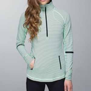 Lululemon• Race With Grace 1/2 Zip Pullover